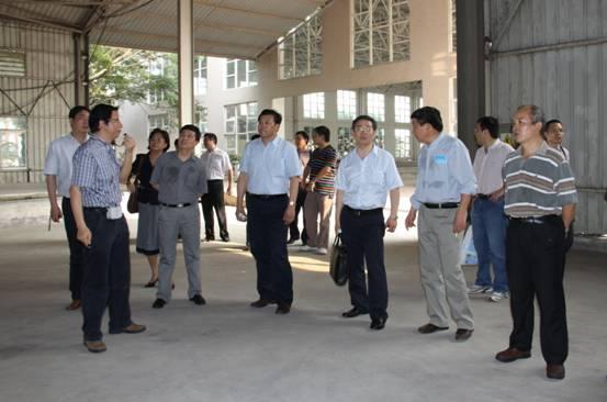 南京水利科学研究院院长张建云院士一行到里水实验